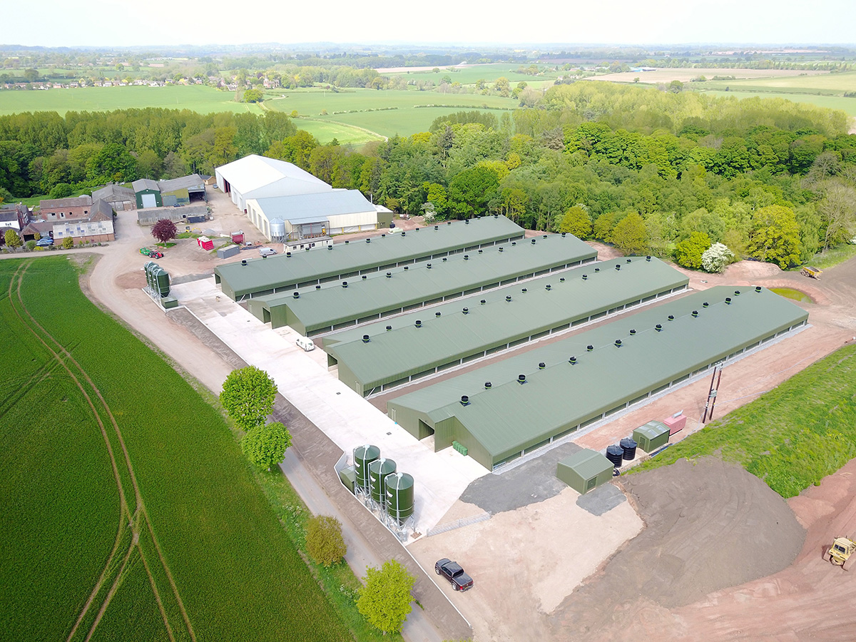 Poultry Buildings Services in Lincolnshire | Clarke Construction