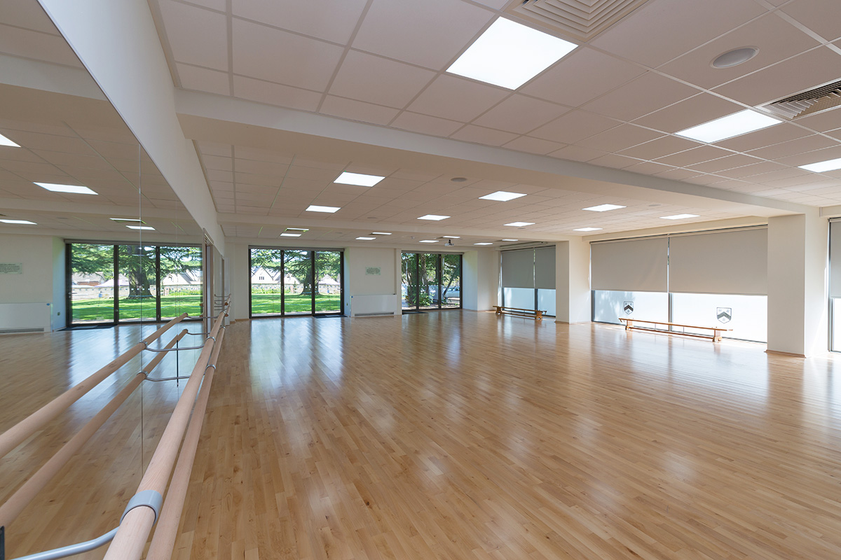 witham-hall-school-dance-studio